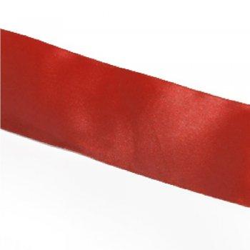 Лента атласная 50 мм красная
