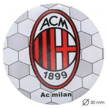 Значок футбольного клубу Мілан