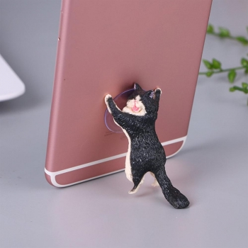 Держатель для телефона Кошачья поддержка Кот черный