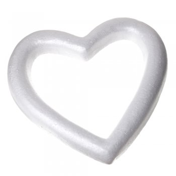 Пенопластовая заготовка  сердце 400 мм