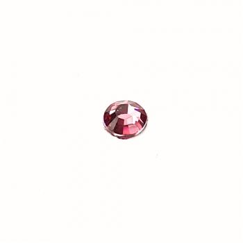 Стрази клейові пластикові 3 мм рожеві уп. 110шт