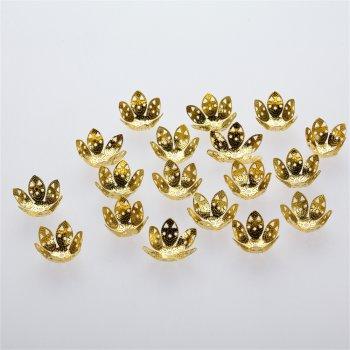 Обниматели золотой цветок 23 мм