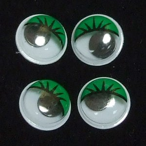 Пластиковые глазки (уп 6 шт)
