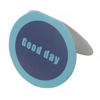 Открытка овальная Good day