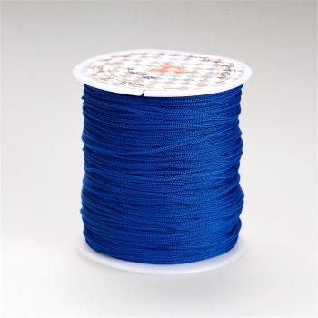 Нить полиэстеровая синий 1 мм