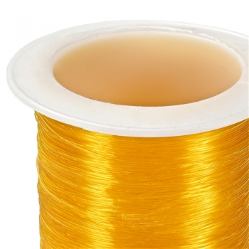 Волосінь бижутерная 100 м (+-10%). Помаранчевий. Діаметр 0,30 мм.
