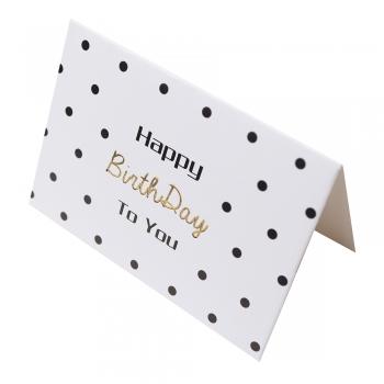 Открытка 90х65 мм Happy BirthDay to you