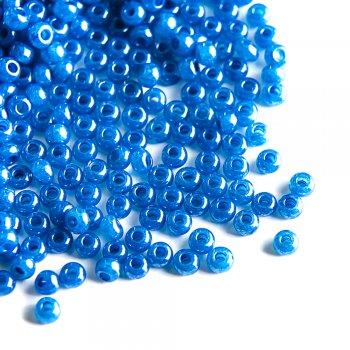 17136 чешский бисер Preciosa 5г  синий