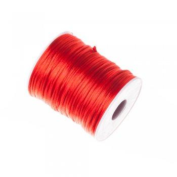 Шнур червоний поліестеровий, 2 мм