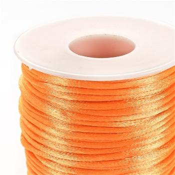 Шнур поліестеровий 2 мм помаранчевий