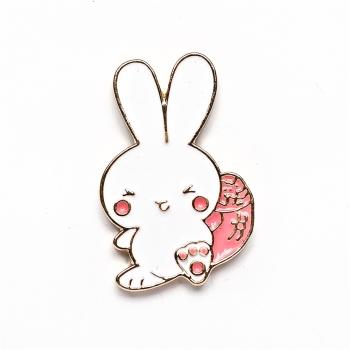 Значок пін Кролик-тян