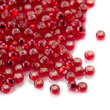 97090 чешский бисер Preciosa 5г  красный