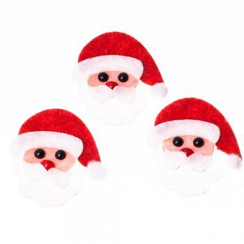 Фетровые элементы Дед Мороз