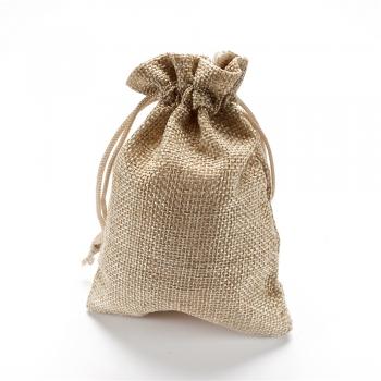 Декоративний мішечок коричневий