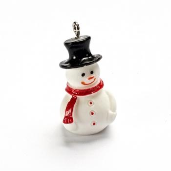Декоративний елемент Сніговик