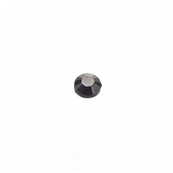 Стрази клейові пластикові 3 мм чорні уп. 110шт