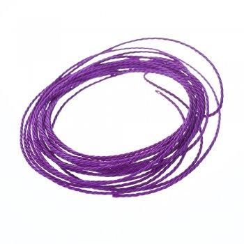 """Нитка поліестерова """"тайванська"""", фіолетова, 1 м"""