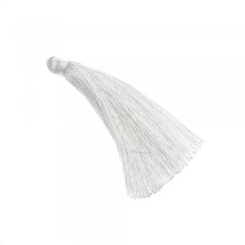 Текстильные кисточки белые