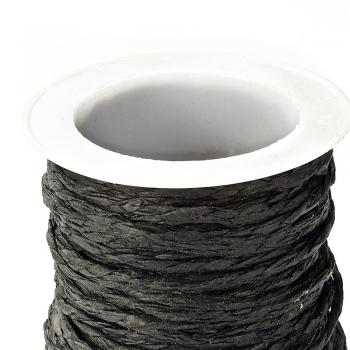 Шнури паперові плетені чорний