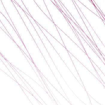 Металева волосінь. Колір фуксії. Діаметр 0,38 мм.
