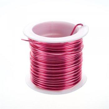 Дріт алюмінієвий бузково-рожевий 1,5 мм