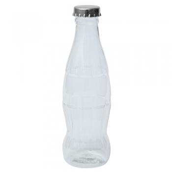 Пластиковый контейнер в форме бутылки с крышкой