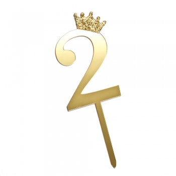 Цифра 2 Д.Р. корона