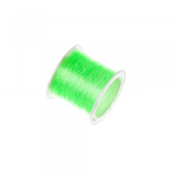 Резинка силиконовая толстая, светло-зеленыйый, 0.8мм