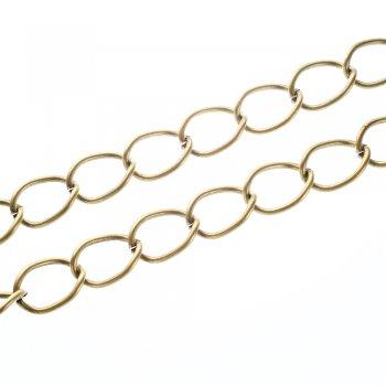 Цепь бронзовая крупная панцирная 16х26х2,8 мм