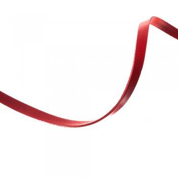 Лента из пресованной кожи 10 мм красная