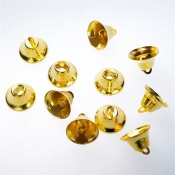 Подвеска-бубенчик золото