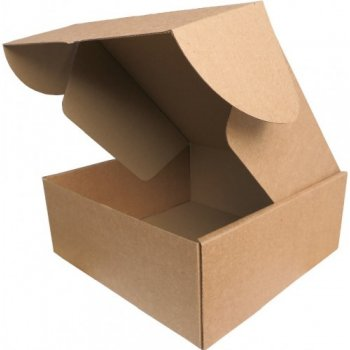 Коробочка картонна 25 * 25 * 10 см