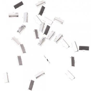 Затискачі для стрічок сріблястий