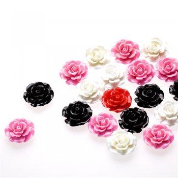 Пластиковая бусина форма цветка