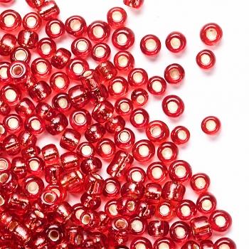 Бисер калиброванный мелкий. Темно-красный. Калибр 12 (1,8 мм)