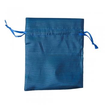 Мішечок поліестеровий 12х10см синій