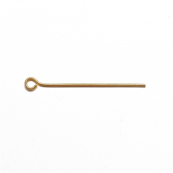 Біжутерні шпильки піни 30 мм золоті уп 10 гр