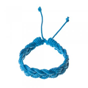 Плетені браслети з бавовняного шнура