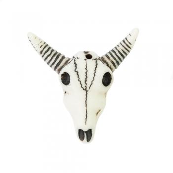 Етнічний пластик череп бика