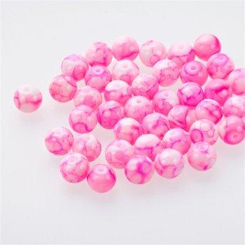 Чеське скло під камінь яскраво-рожевий