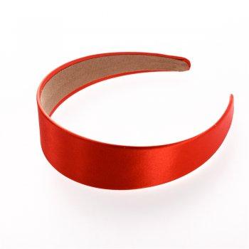 Обручи картонные с атласным покрытием красный