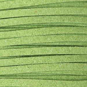 Шнури замшеві 3 * 1,4 мм м'ятний