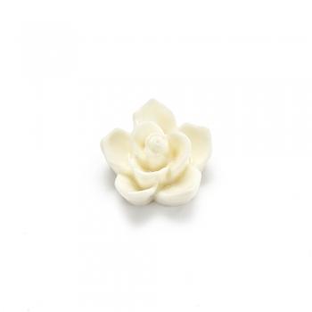 Пластикові клейові елементи. Квітка біла