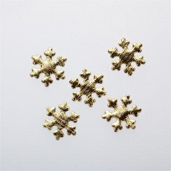 Текстильні дуті елементи сніжинки