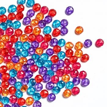 Пласт.кристали 8 мм
