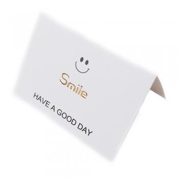 Открытка 90х65 мм Smile Have a good day