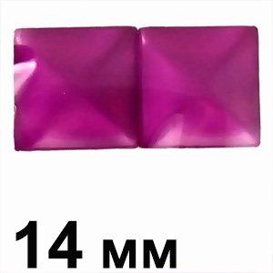 Пластикові кабошони фіолетовий очей