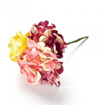 Искусственный цветок микс хризантема