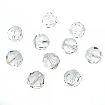 Хрустальные бусины прозрачный 12 мм