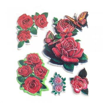 """Наклейки """"Троянди"""""""